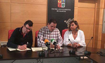 El Ayuntamiento firma un convenio con ASEM para el desarrollo de actividades y el mantenimiento de la sede