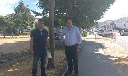 Intervención en la avenida de La Forja para duplicar los aparcamientos disponibles
