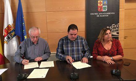 El Ayuntamiento patrocina al Club Deportivo Martos Fútbol Sala para promocionar la ciudad