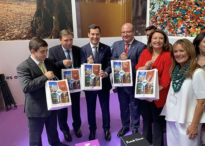 El alcalde valora la repercusión de Expoliva'19 en la Capital Mundial del Aceite de Oliva