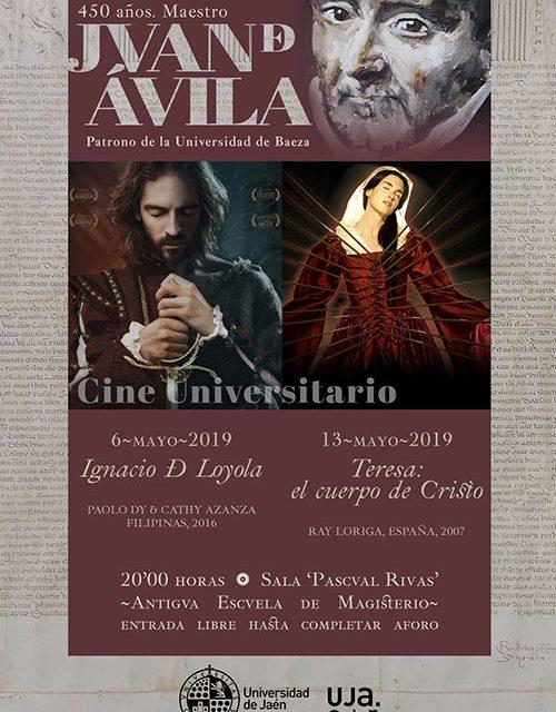 La Universidad de Jaén celebra el 450 aniversario de la muerte de Juan de Ávila con cine, música y debate