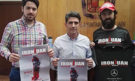 El Ayuntamiento anima a los jienenses a apoyar el reto 'IRONJUAN'