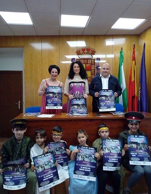 El Ayuntamiento anima a los jiennenses a asistir a las funciones de fin de curso de Teatraula