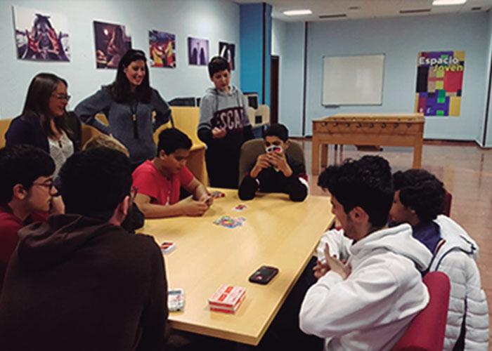 """""""Nuevo Espacio"""" para programar actividades para los jovenes"""