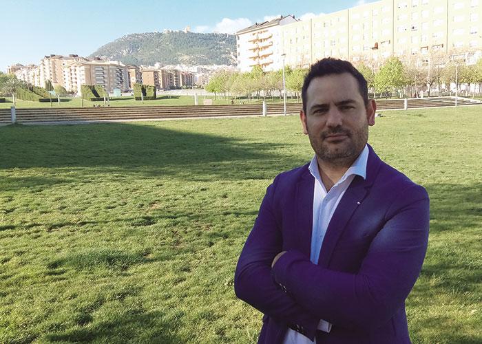 Miguel Ángel García Barroso, presidente de la Asociación de Jóvenes Empresarios de Jaén