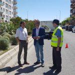 El Ayuntamiento cambia la fisonomía de las medianas de las calles Antonio Muñoz Molina y Catalina Mir
