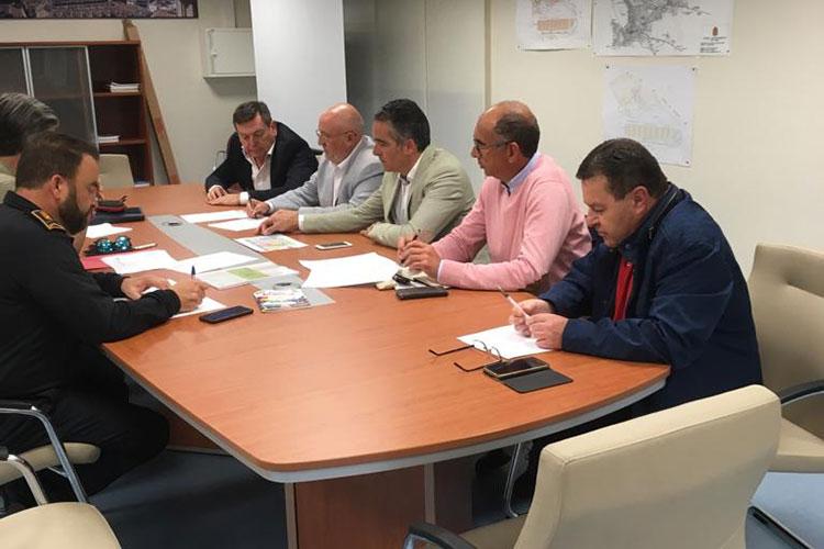 El Ayuntamiento se reúne con IFEJA, Policía Local y Protección Civil para establecer el operativo de Expoliva' 19