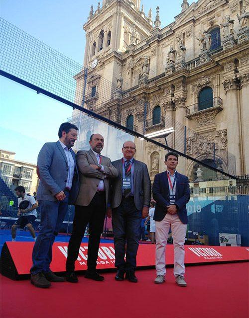 El alcalde valora la repercusión económica y turística del WPT para la ciudad de Jaén