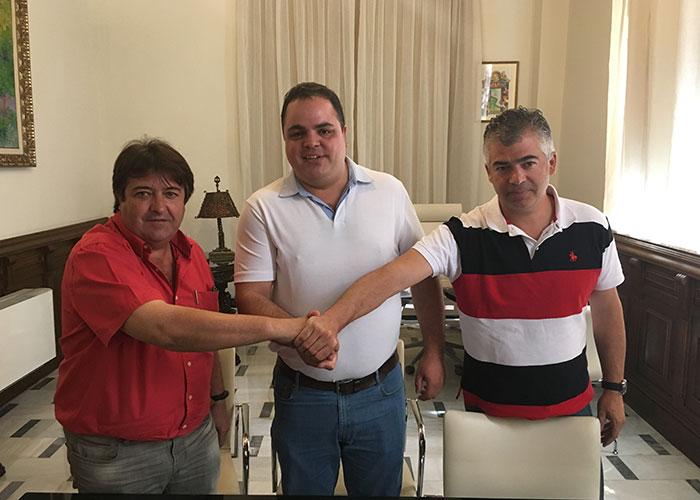 El alcalde anuncia un acuerdo de gobernabilidad por un gobierno de progreso en Martos