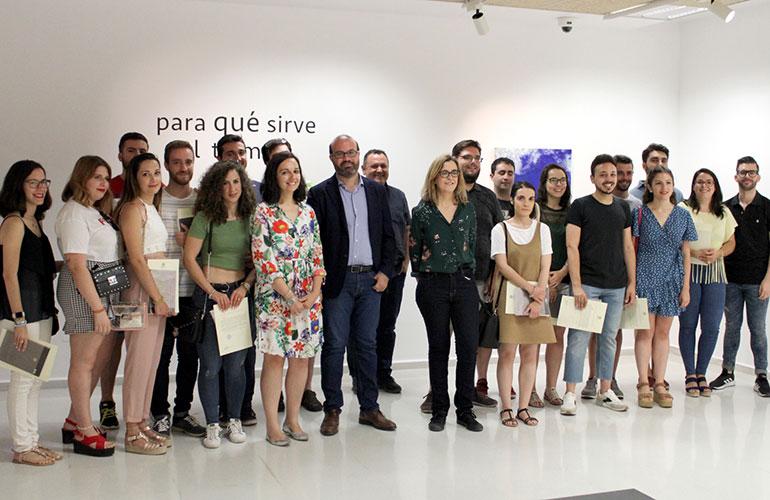 La Universidad de Jaén reconoce el trabajo del alumnado que colaboró en La Noche en Blanco