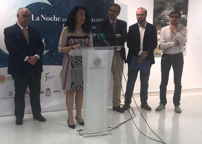 """El Ayuntamiento, presente en la Noche en Blanco con actividades """"para que todos los jiennenses vivan y disfruten de la cultura"""""""
