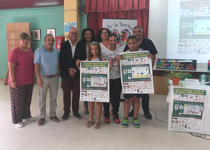 El Ayuntamiento felicita a los colegios Navas de Tolosa y Agustín Serrano de Haro por la organización de la VIII Carrera 'Corremos por ti'