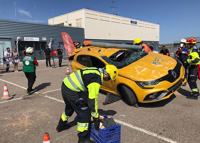 El Ayuntamiento destaca la participación del Equipo de Rescate de Accidentes de Tráfico de Bomberos Jaén en el IV Campeonato de España de Rescate en Accidentes de Tráfico