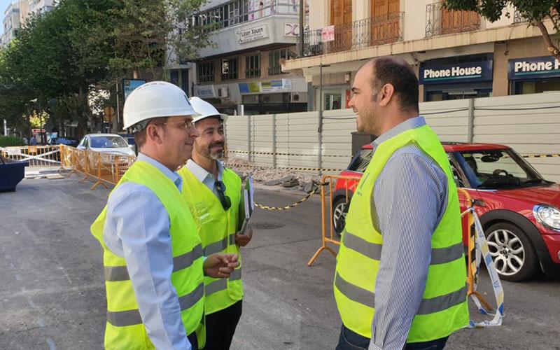 El Ayuntamiento supervisa las obras de Roldán y Marín con el objetivo de que estén terminadas a finales de año