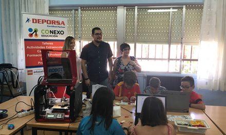 Cerca de 400 menores participan en el programa Diviértete
