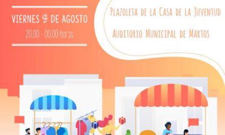 El Ayuntamiento anima a comerciantes a que se apunten en la primera feria comercial y asociativa nocturna de Martos