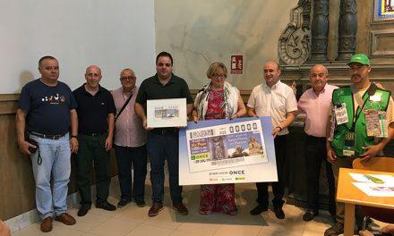 Un cupón de la ONCE conmemora el 800 aniversario de Santa Marta en Martos