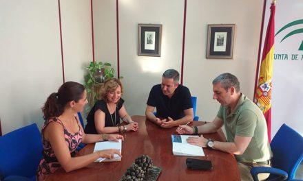 El Ayuntamiento y la Delegación de Educación trabajan para que el Aula de la Naturaleza de la «Cañada de las Hazadillas» de la capital sea un referente formativo en la provincia jiennense