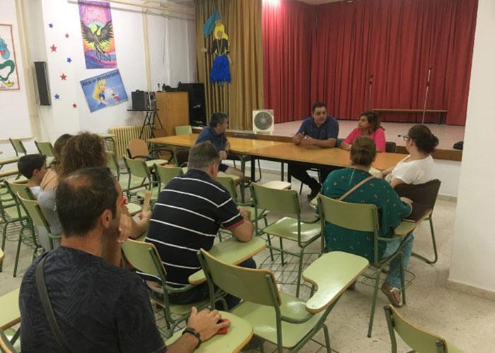 El alcalde pide un cronograma a la Junta para concretar el proyecto del patio del Virgen de la Villa