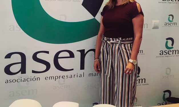 Paola Gener Expósito, gerente de la Asociación Empresarial Marteña (ASEM)