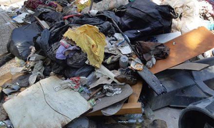 El Ayuntamiento retira 14 toneladas de basura de las laderas de Antonio Díaz