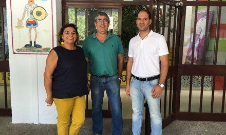 El Ayuntamiento de Martos acondiciona los colegios públicos ante el inicio del curso escolar