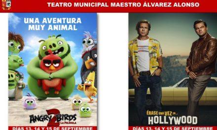 Fin de semana de cine en el Teatro Municipal Maestro Álvarez Alonso