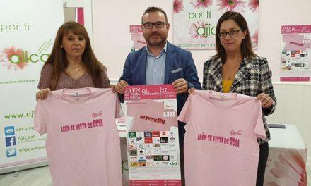 El Ayuntamiento de Jaén anima a sumarse a la novena marcha solidaria de la Asociación Jiennense de Cáncer de Mama