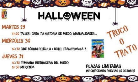 El centro TIC de Monte Lope prepara tres días de actividades para celebrar Halloween