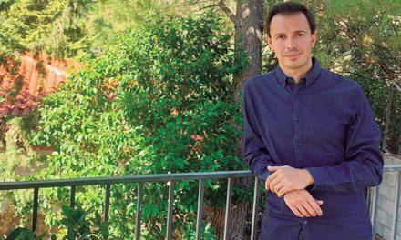 Alberto Palomo González, presidente de la Asociación Cultural de Caseteros del recinto ferial de Jaén