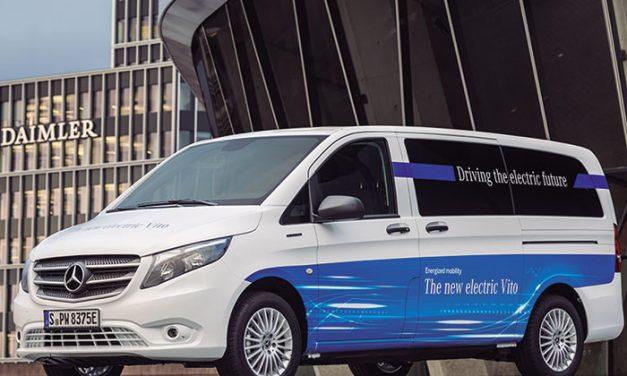 La eVito, la furgoneta eléctrica de Mercedes-Benz