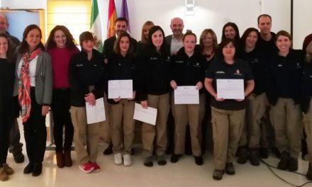 Los 15 alumnos del Taller de Empleo Club de la Naturaleza concluyen su formación y obtienen dos certificados profesionales y un módulo formativo en inglés