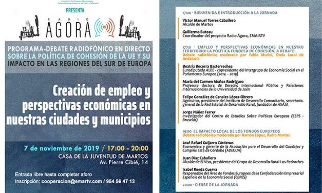La Casa de la Juventud acoge un programa radiofónico en directo de la EMA sobre la UE