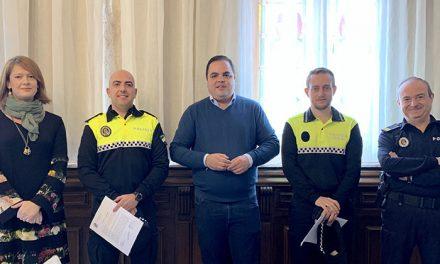 Dos nuevos agentes se incorporan a la plantilla de la Policía Local de Martos