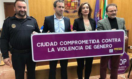 El Ayuntamiento de Jaén colocará 44 señales contra la violencia de género en distintos puntos de la ciudad