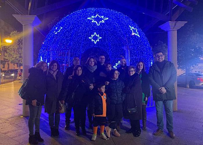 Martos alumbra la Navidad con 350.000 bombillas led distribuidas en unos 200 elementos