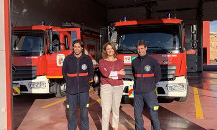 El parque de bomberos de Martos registra más de 200 salidas en su primer año en funcionamiento