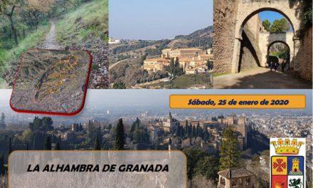 El jueves 16 de enero se abren las inscripciones para la ruta 'La Alhambra de Granada'