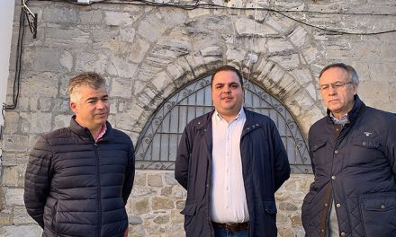 A buen ritmo las obras para hacer visitable la Torre Campanario Santa Marta del siglo XVI