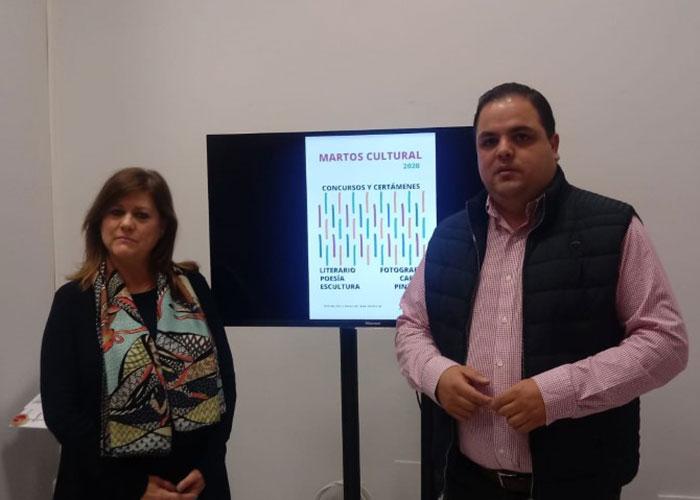 El Ayuntamiento convoca una nueva edición de los prestigiosos certámenes de 'Martos Cultural'