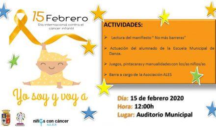 El Ayuntamiento de Martos organiza distintas actividades con motivo del Día Internacional Contra el Cáncer Infantil