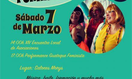 Igualdad organiza el próximo 7 de marzo un guateque feminista