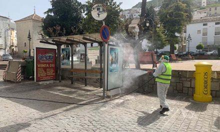 Plan integral de limpieza de la vía pública en Martos