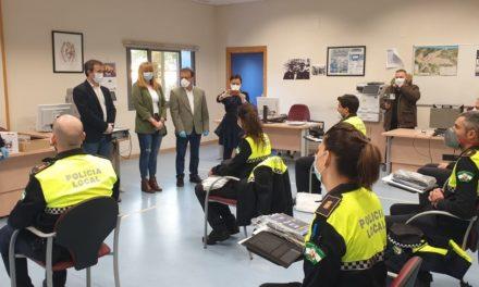La Plantilla de la Policía Local se refuerza con 17 nuevos agentes en prácticas en las tareas de control y apoyo a la capital