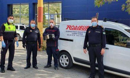 El Ayuntamiento adquiere una máquina de desinfección por ozono para limpieza de vehículos e instalaciones de la Policía Local