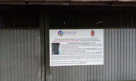 El Ayuntamiento habilita la apertura remota de los aparcamientos públicos en rotación que restringieron el acceso por la crisis sanitaria
