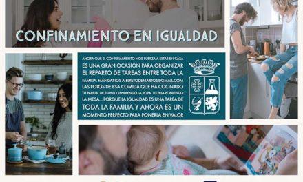 El Ayuntamiento de Martos pone en marcha la campaña 'Confinamiento en igualdad'