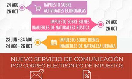 El Ayuntamiento de Martos no cargará los recibos domiciliados de vehículos hasta el 22 de junio