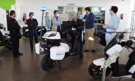El Ayuntamiento de Jaén renueva el parque móvil de la Policía Local con la incorporación de cuatro motos eléctricas