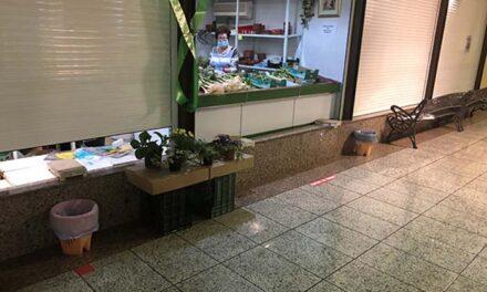 El Mercado de Santa Marta adapta sus instalaciones para garantizar la seguridad y salud ante la crisis sanitaria del COVID-19